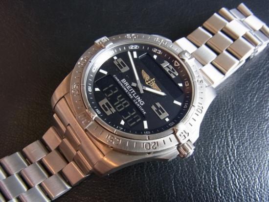 size 40 a6f95 bfe0e BREITLING AEROSPACE ブライトリング エアロスペース - 腕時計 ...