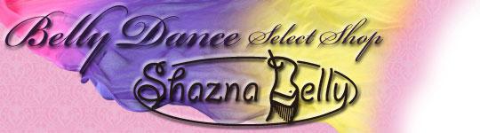 ベリーダンスショップ・通販 ベリーダンス衣装・ベリーダンス用品のシャズナベリー