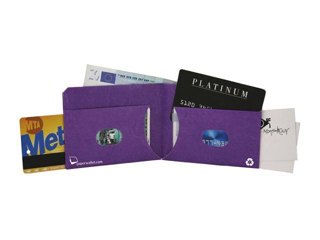 PAPER WALLET ペーパーウォレット Tyvek (タイベック) 製 財布 パープル