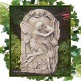 ガーデンプレート 壁掛け 掛型 妖精 チューリップ 花の妖精 イギリス製