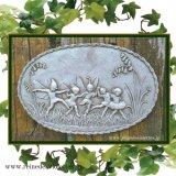ガーデンプレート 壁掛け 掛型 小さい妖精 すずらん 花の妖精 イギリス製