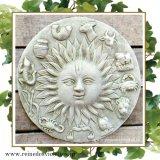 ガーデンプレート 壁掛け 掛型 太陽 お日様 星座 イギリス製
