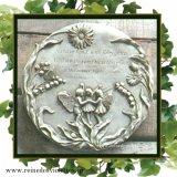 ガーデンプレート 壁掛け 掛型 妖精 スズラン マーガレット 花の妖精 イギリス製