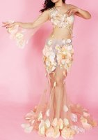 ベリーダンス衣装   ヴィーナスフラワー Designed by Tayana Soulkeeper
