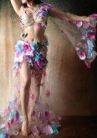 ベリーダンス衣装   コスモフォレスト Designed by Tayana Soulkeeper