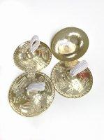 ベリーダンス用 エジプト製 ジル/フィンガーシンバル/サガット  ゴールド