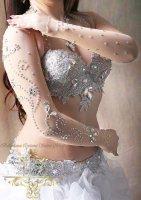 ベリーダンス衣装 アームカバー Designed by Sufel Boutique