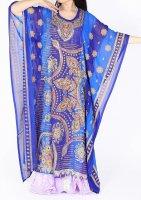 アバヤ ブルー1 エジプト製