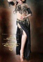 ベリーダンス衣装 ブラック1 Designed by Yasser