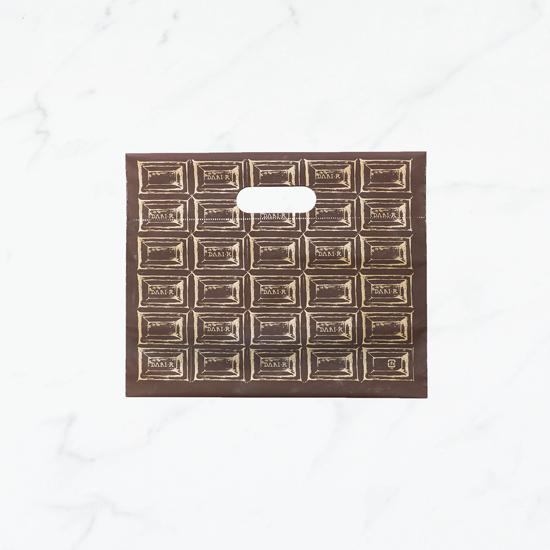 【ギフト用】Dari K オリジナル 袋 チョコレート柄(梨地)