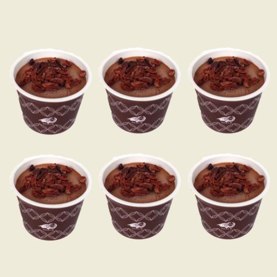 カカオが香るチョコレート・アイスクリーム 6個入り(送料込)