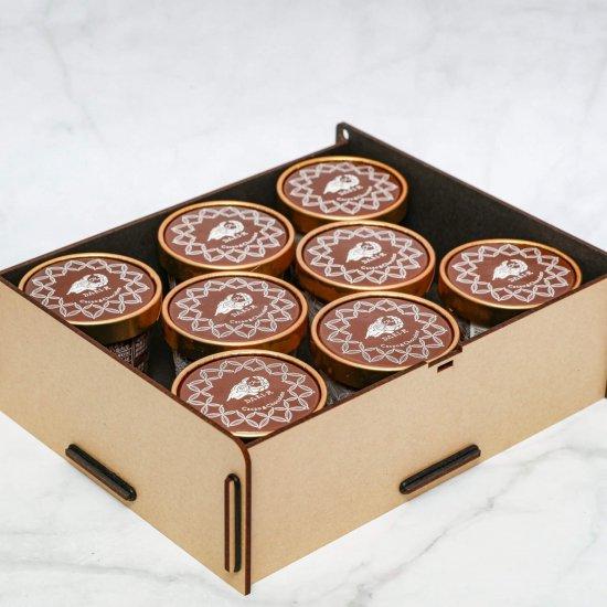 カカオが香るチョコレート・アイスクリーム 8個入り(送料込)