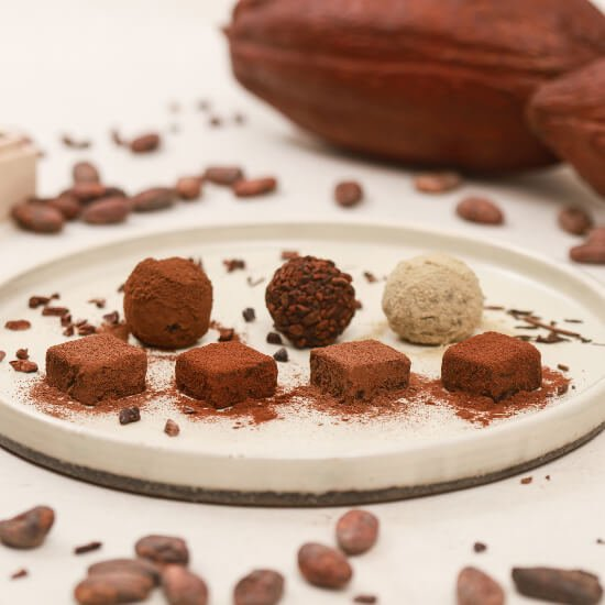 カカオが香るチョコレート・トリュフ&生チョコ食べ比べセット