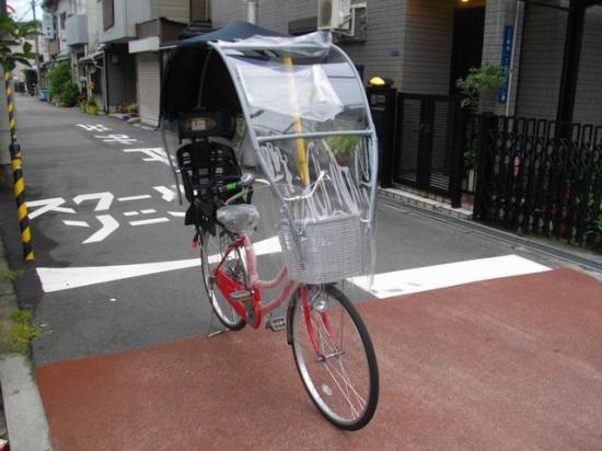 人乗り 子供乗せ 、屋根 自転車 ...