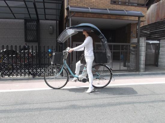 電動アシスト自転車 グッズ パーツ、雨除け、日よけ風よけの用品アクセサリー 電動ニューギャラXX (UV、後かご、H金…