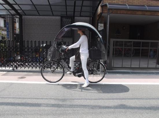 電動アシスト自転車 アクセサリー グッズ 日よけ、雨除け 風よけ 用品 パーツ     電動車 ニューギャラXZ (1屋根、かご、H金…