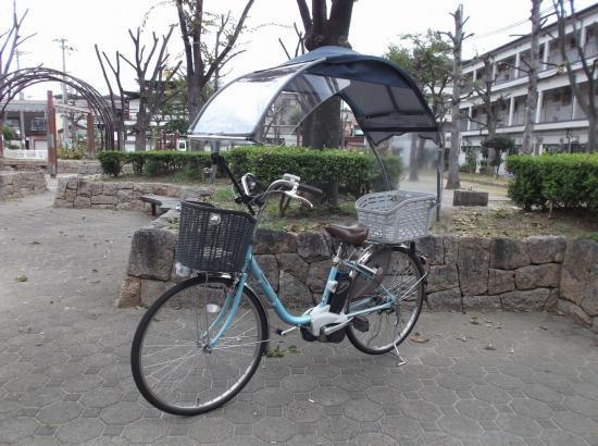 自転車 子供のせに雨除け ...