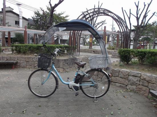 自転車 子供のせに雨除け、日除けグッズ用品 サスベエ 傘 ホルダー不要   電動用ニューギャラGB (バイザーとロールかご…