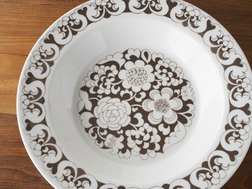 Arabia Gardenia  スーププレートB