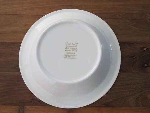 Arabia Faenza  スーププレート