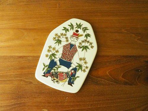 Figgjo Mons og Mille  M チーズボード/壁飾り