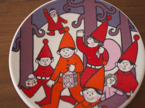 Arabia Julkort  クリスマスプレート5