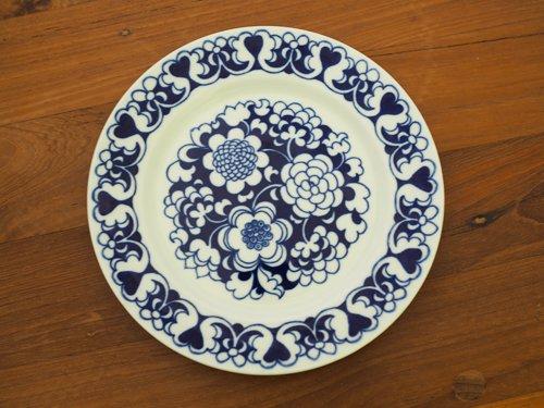 Arabia Gardenia  ケーキプレート青
