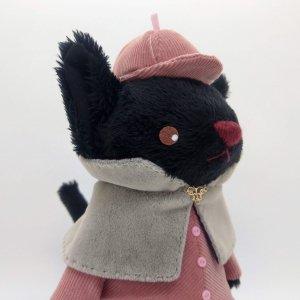 探偵ねこ(桃)