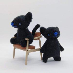 おやゆびねこ(黒)