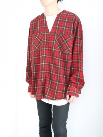 "<img class='new_mark_img1' src='//img.shop-pro.jp/img/new/icons43.gif' style='border:none;display:inline;margin:0px;padding:0px;width:auto;' />TUNIC SHIRT ""FLANNEL"" No.01【OLD PARK 2016AW】"