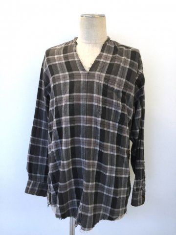 "<img class='new_mark_img1' src='//img.shop-pro.jp/img/new/icons43.gif' style='border:none;display:inline;margin:0px;padding:0px;width:auto;' />TUNIC SHIRT ""FLANNEL"" No.04【OLD PARK 2016AW】"