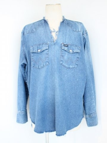 "<img class='new_mark_img1' src='//img.shop-pro.jp/img/new/icons43.gif' style='border:none;display:inline;margin:0px;padding:0px;width:auto;' />TUNIC SHIRT ""DENIM"" No.01【OLD PARK 2016AW】"