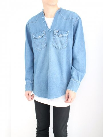 "<img class='new_mark_img1' src='//img.shop-pro.jp/img/new/icons43.gif' style='border:none;display:inline;margin:0px;padding:0px;width:auto;' />TUNIC SHIRT ""DENIM"" No.02【OLD PARK 2016AW】"