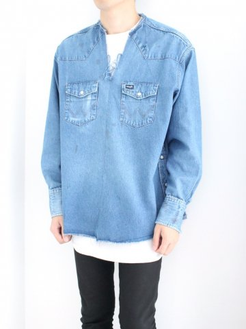 "<img class='new_mark_img1' src='//img.shop-pro.jp/img/new/icons43.gif' style='border:none;display:inline;margin:0px;padding:0px;width:auto;' />TUNIC SHIRT ""DENIM"" No.03【OLD PARK 2016AW】"