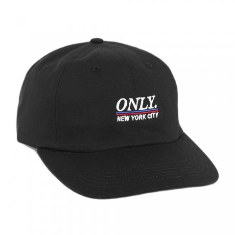 <img class='new_mark_img1' src='//img.shop-pro.jp/img/new/icons43.gif' style='border:none;display:inline;margin:0px;padding:0px;width:auto;' />Stadium Polo Hat:BLACK【OnlyNY 2016AW】