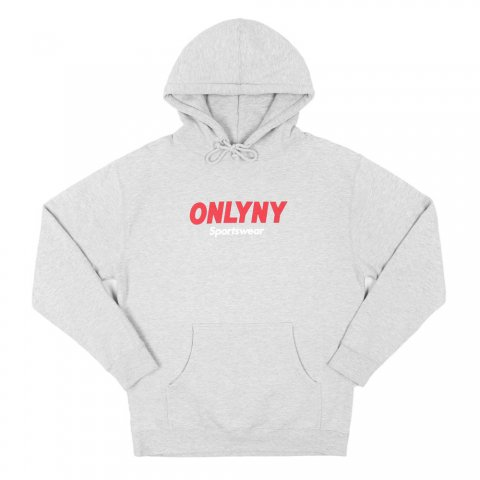 <img class='new_mark_img1' src='//img.shop-pro.jp/img/new/icons43.gif' style='border:none;display:inline;margin:0px;padding:0px;width:auto;' />Sportswear Hoody:Heather Grey【OnlyNY 2016AW】