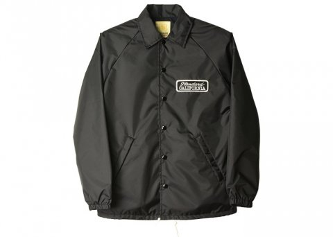 <img class='new_mark_img1' src='//img.shop-pro.jp/img/new/icons43.gif' style='border:none;display:inline;margin:0px;padding:0px;width:auto;' />【完売】SD Coach Jacket Type2:ブラック【STANDARD CALIFORNIA 2017SS】