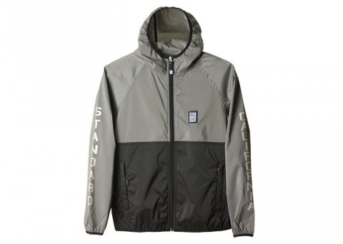 <img class='new_mark_img1' src='//img.shop-pro.jp/img/new/icons1.gif' style='border:none;display:inline;margin:0px;padding:0px;width:auto;' />SD Stretch Easy Jacket:Gray×Black【 STANDARD CALIFORNIA 2017SS】