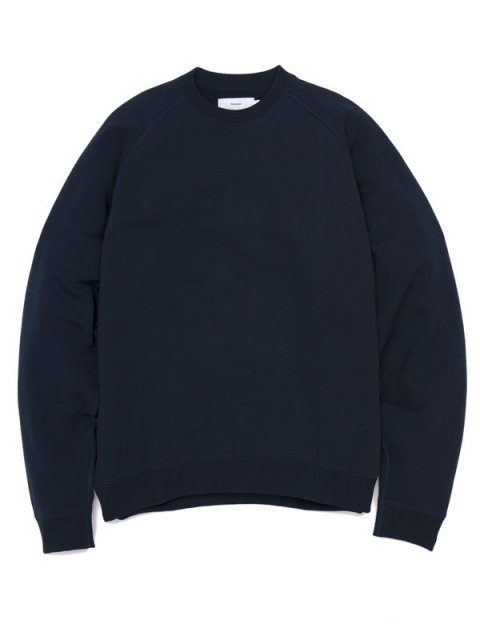 <img class='new_mark_img1' src='//img.shop-pro.jp/img/new/icons1.gif' style='border:none;display:inline;margin:0px;padding:0px;width:auto;' />LOOPWHEELER for Graphpaper Raglan Sweat : ネイビー【 Graphpaper  2017SS】