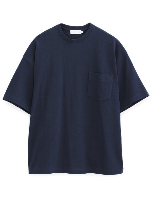 <img class='new_mark_img1' src='//img.shop-pro.jp/img/new/icons1.gif' style='border:none;display:inline;margin:0px;padding:0px;width:auto;' />LOOPWHEELER for Graphpaper Big Tee : NAVY【Graphpaper  2017SS】