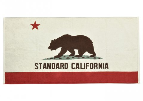 <img class='new_mark_img1' src='//img.shop-pro.jp/img/new/icons1.gif' style='border:none;display:inline;margin:0px;padding:0px;width:auto;' />SD California Flag Imabari Towel【STANDARD CALIFORNIA 2017SS】