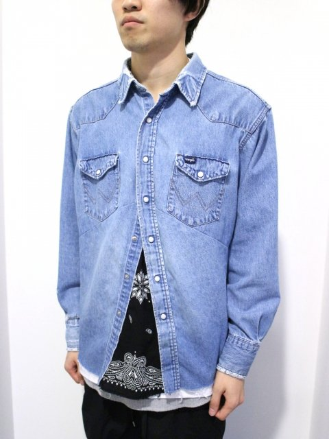<img class='new_mark_img1' src='//img.shop-pro.jp/img/new/icons1.gif' style='border:none;display:inline;margin:0px;padding:0px;width:auto;' />DARTS SHIRT DENIM :No.2【 OLD PARK 2017SS 】