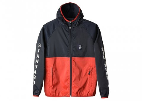 <img class='new_mark_img1' src='//img.shop-pro.jp/img/new/icons43.gif' style='border:none;display:inline;margin:0px;padding:0px;width:auto;' />SD Stretch Easy Jacket:Navy×Red【 STANDARD CALIFORNIA 2017SS】