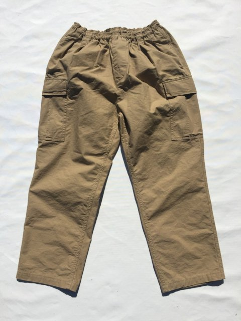 TOROPICAL COMFORT TROUSERS:BEIGE【Goofy creation 2017SS】