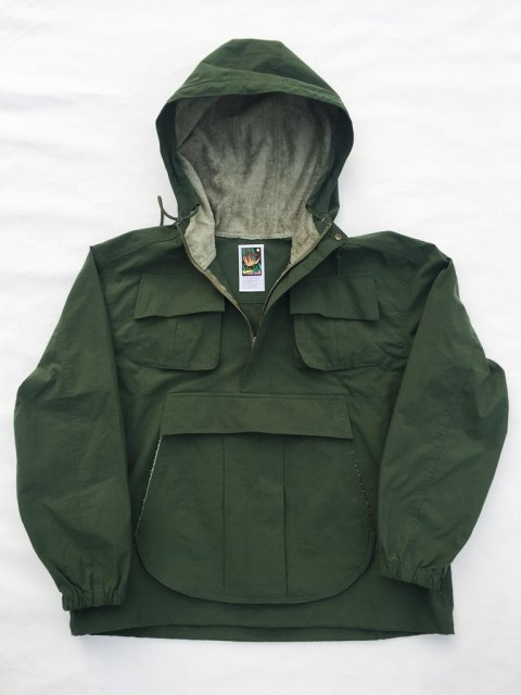<img class='new_mark_img1' src='//img.shop-pro.jp/img/new/icons1.gif' style='border:none;display:inline;margin:0px;padding:0px;width:auto;' />【残り1点】JUNGLE COMFORT JACKET:GREEN【 GOOFY CREATION 2017SS】
