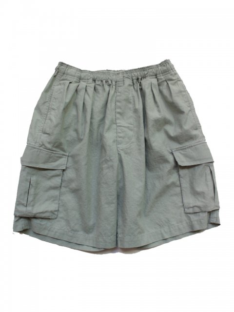<img class='new_mark_img1' src='//img.shop-pro.jp/img/new/icons43.gif' style='border:none;display:inline;margin:0px;padding:0px;width:auto;' />Pile pocket 2 tack cargo shorts:Mint green【 GOOFY CREATION 2017SS】