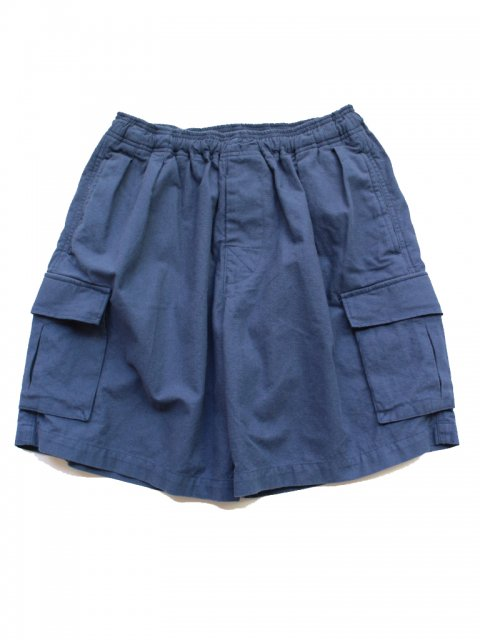 <img class='new_mark_img1' src='//img.shop-pro.jp/img/new/icons43.gif' style='border:none;display:inline;margin:0px;padding:0px;width:auto;' />Pile pocket 2 tack cargo shorts:NAVY【 GOOFY CREATION 2017SS】