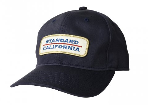 <img class='new_mark_img1' src='//img.shop-pro.jp/img/new/icons43.gif' style='border:none;display:inline;margin:0px;padding:0px;width:auto;' />SD Work Logo Wappen Baseball Cap:NAVY【 STANDARD CALIFORNIA 2017AW 】