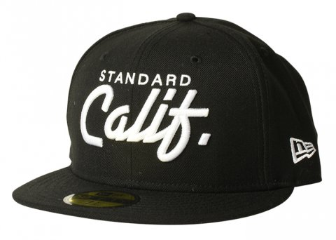 NEW ERA × SD 59 FIFTY Standard Calif. Logo Cap:BLACK【 STANDARD CALIFORNIA 2017AW 】
