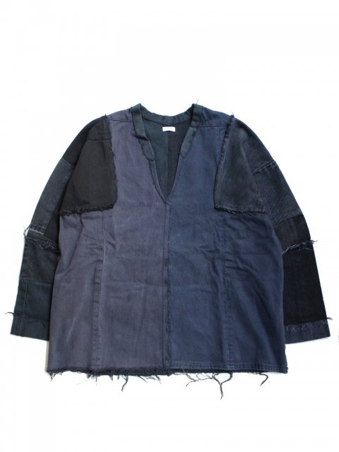 <img class='new_mark_img1' src='//img.shop-pro.jp/img/new/icons1.gif' style='border:none;display:inline;margin:0px;padding:0px;width:auto;' />DROP DENIM SHIR